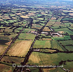 Stane Street, near Billingshurst, West Sussex: an important Roman road that linked London to the Roman town of Noviomagus (Chichester)., England